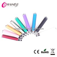 Ego t battery 650mah900mah1100mah1300mah with diamond button