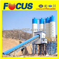 HZS90 90m3/h precast concrete batching plant with low price