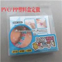 High Quality Transparent PVC Plastic Box/ Cosmetic Box//PVC Packing Box
