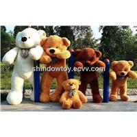 Hot sell giant teddy bear with bowknot big teddy bear