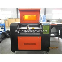 Leather Shoes/ Bags/ Belt Laser Engraving Machine RF-5030-CO2-50W