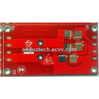 PCB with Red Mask for Power Supply