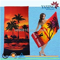 Yiwu towel factory microfiber Beach Towel