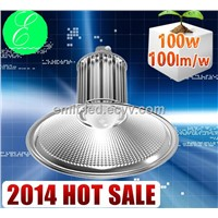 100-300w AC90-305V 100w industrial lighting led high bay 2014 new product