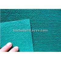 100%polyester non woven ribbed carpet