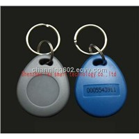 125khz waterproof rfid key fobs