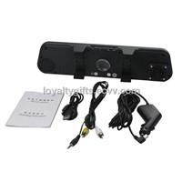 1280P Full HD DV300 Mirror DVR Rear View Camera 2.7 Inch LCD Motion Detection