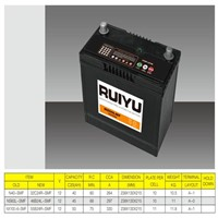 12V45AH sealed maintenance free car battery