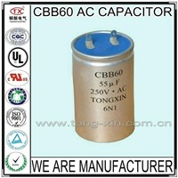 2014 Hot Sale CBB60 AC MOTOR CAPACITOR
