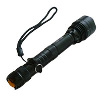 2014 Hot Selling Tactical LED Flashlight Rechargeable SG-ST80