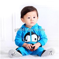 2014 New Boys girls Clothing Sets Baby Boys Casual Clothing Set Kid Apparel Garment