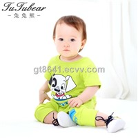 2014 New Boys girls Clothing Sets Baby Boys Casual Clothing Set Kid Apparel Garment