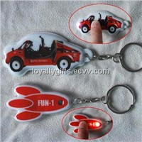 2014 hot selling PVC led keychain