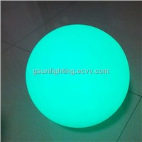 25CM LED Ball Light,waterproof led ball with induction charging plate for pool flat ball