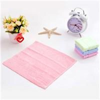 25*25cm 100%bamboo fiber towel, hand towel, children towel