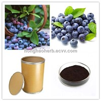 25% anthocyanidins bilberry fruit extract powder
