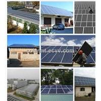 2KW on-grid solar power generator