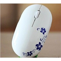 2.4GHz Wireless optical mouse Cordless Scroll Computer PC Mice with USB Dongle various color