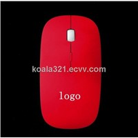 2.4G wireless flat mouse-best sale mouse as gift