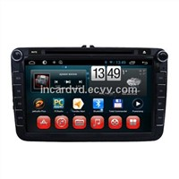 2 Din Car DVD GPS System for Volkswagen Magotan / Sagitar / Tiguan / Polo / Eos