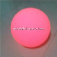 35cm LED Ball Light,Waterproof LED Ball with Induction Charging Plate for Pool Flat Ball