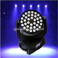36PCS CREE 10W 4in1 led fine art lighting moving head