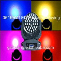 36*10w RGBW led stage lighting led wash moving head