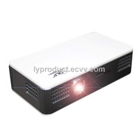 3D High-brightness, 1.2GHz Dual-core CPU, Mini DLP  Pocket Projector with Wi-Fi