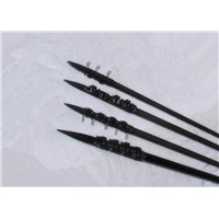 5 - meter strong carbon fiber Telescoping Poles for trolling fishing / telescopic outrigger