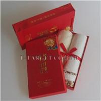 70% Bamboo fiber+30% cotton 34x76cm Solid Soft Home Towel Washcloth Gift Box