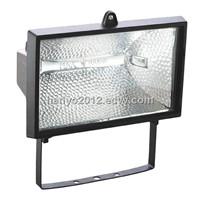750W or 1000W halogen lamp outdoor light floodlight R7s lamp holder halogen lamp fitting
