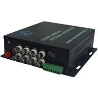 8 Channels Forward Digital Optical Video Multiplexer