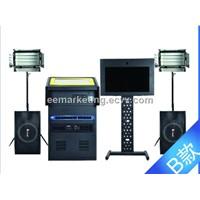All in one audio video record machine Intelligent shoot mtv machine karaoke