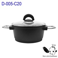 Aluminum pan&die cast cookware set