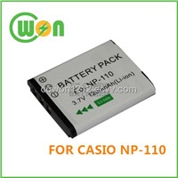 Battery NP-110 NP110 for Casio Digital Battery