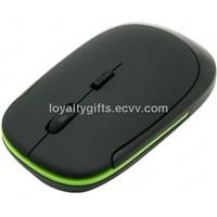 Black Mini 2.4 GHz USB Wireless Optical Mouse For PC Laptop