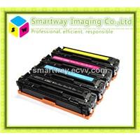 CB540A CB541A CB542A CB543A compatible hp color toner cartridge for printer 1215 1312