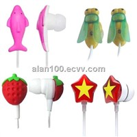 Cartoon Earphones earbuds / Lovely children earphone / Creative headphones