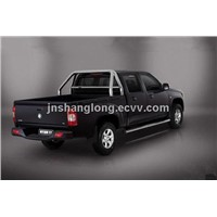 China 4x4 Petrol Pickup Car with double cab