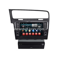 China Manufacturer 2 Din Car GPS in Car DVD Player Android System for VolksWagen Golf 7