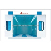 China spray booth BZB-8400