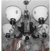 Chinese modern lightihg fixture wooden chandelier