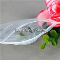 Clear LDPE reclosable zip lock bags/zipper bags