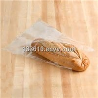 Clear plastic bread bag