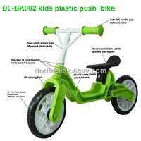 Comfortable plastic kids bike