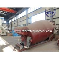 Concrete mixer truck drum