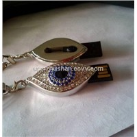 Custom Hot Gifts Eye USB Flash Drive in Real Memory