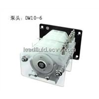DW10 PUMP HEAD 45ml/min ,1.2.3.4.6 channels, PVDF material,chemical resistant pump head