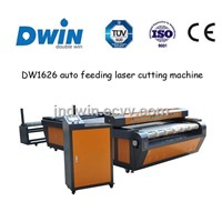 DW1626 Automatic Feeding Fabric Laser Cutting Machine