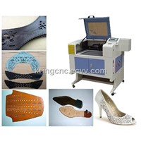 Desktop cloth leather co2 laser engraver machine KR530